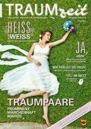 TRAUMZEIT Hochzeitsmagazin 2015/2016