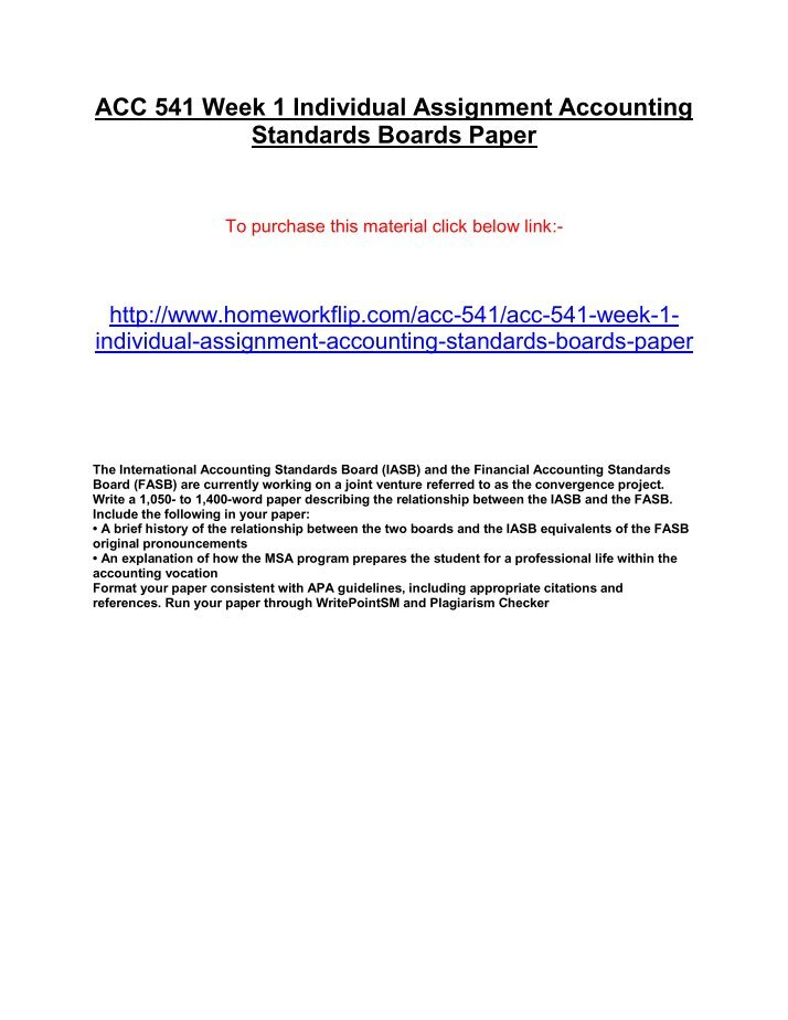 accounting standards boards paper essay Words: 1664 length: 5 pages document type: essay paper #: 9569692 ifs 8 operating segments was to a certain degree a ground-breaking law since it represented the first foray of the international accounting standards board into the area of requiring companies and business to disclose information through their management.