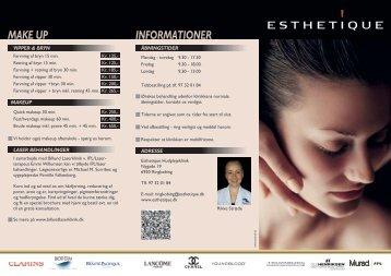 MAKE UP INFORMATIONER - Esthetique