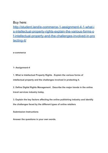 E business assignement1