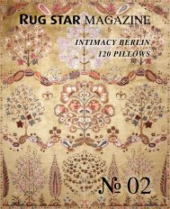 Rug Star MAGAZINE 02 - Intimacy Berlin | 120 Pillows