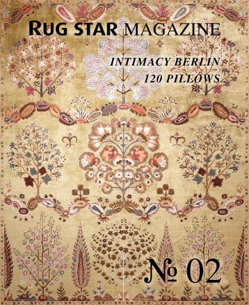 Rug Star MAGAZINE 02 - Intimacy Berlin | 120 Pillows
