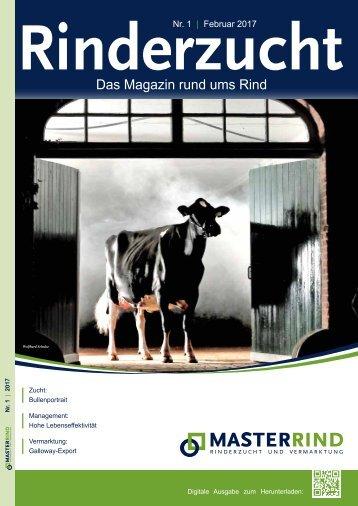 MASTERRIND Rinderzucht Ausgabe 1-2017