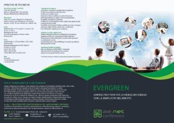 Brochure Evergreen - unica