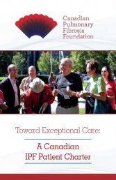 A Canadian IPF Patient Charter