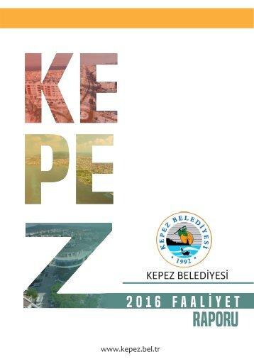 kepez belediyesi faaliyet raporu 2016
