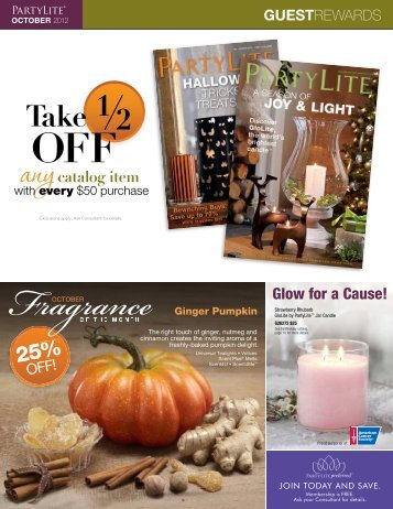 GUESTREWARDS Exclusively for Guests - PartyLite