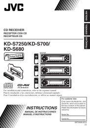 COVER KD-S7250/700/680[J] - JVC