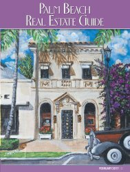 Palm Beach Real Estate Guide February 2017