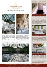 Newsletter 07-2010 - Party Rent