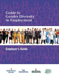 Guide to Gender Diversity in Employment