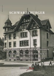 Schwarzenburger Magazin