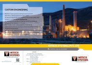 Miteck systems  Product catalogue