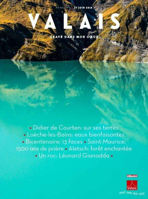 Valais, le magazine - Juin 2015