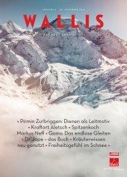 Wallis. Das Magazin. - November 2015