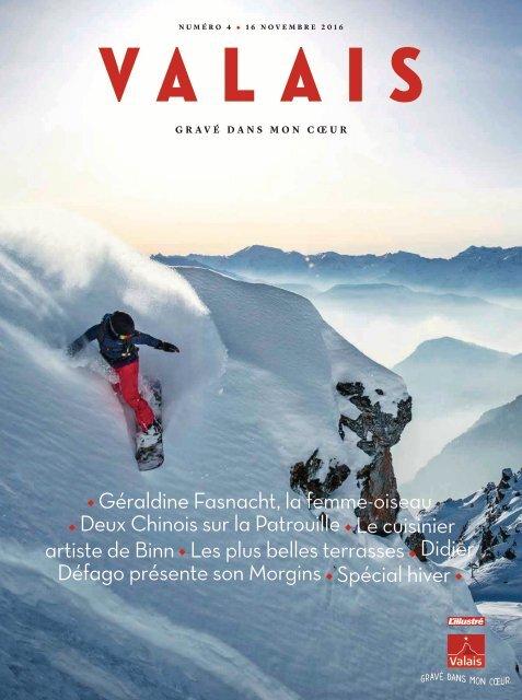 Valais, le magazine - Hiver 2016