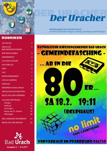 Der Uracher KW 06-2017