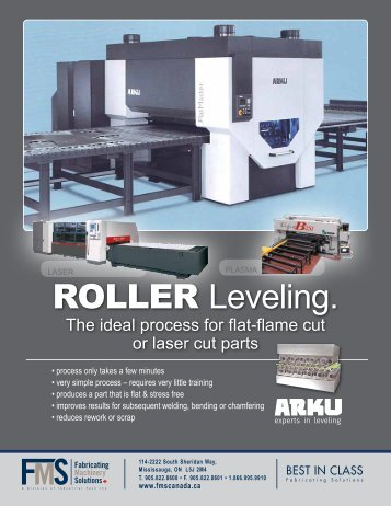ARKU Leveling Centre - Fabricating Machinery Solutions