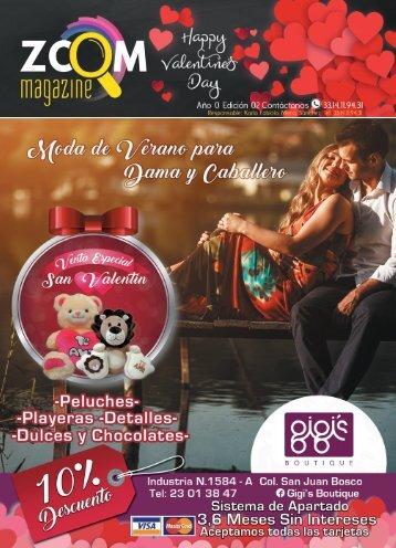 Revista Zoom Magazine Febrero de 2017
