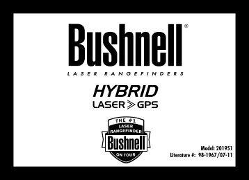 1 Model: 201951 Literature #: 98-1967/07-11 - Bushnell Golf