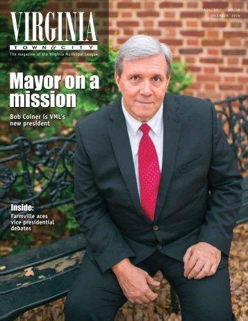 Mayor on a mission