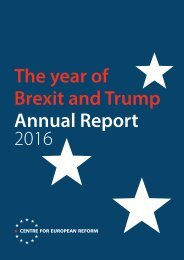 The year of Brexit and Trump Annual Report 2016