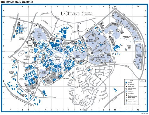 UCI Campus Map   UC Irvine TODAY
