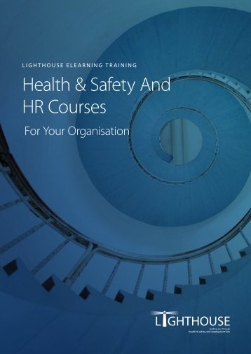 Health & Safety And HR Courses