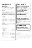 Philips Micro-chaîne DVD - Mode d'emploi - HUN - Page 2