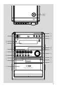 Philips Micro-chaîne DVD - Mode d'emploi - HUN - Page 3