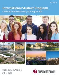 2017 CSUDH International Programs Brochure