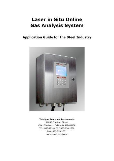 Laser in Situ Online Gas Analysis System - Teledyne