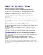 Video Spin Blaster Pro Review-MEGA $22,400 Bonus & 65% DISCOUNT  - Page 2