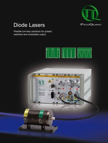 Diode Lasers - PicoQuant GmbH