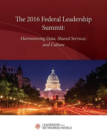 The 2016 Federal Leadership Summit