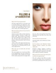 fillers & lip augmentation - Gateway Aesthetic Institute and Laser ...