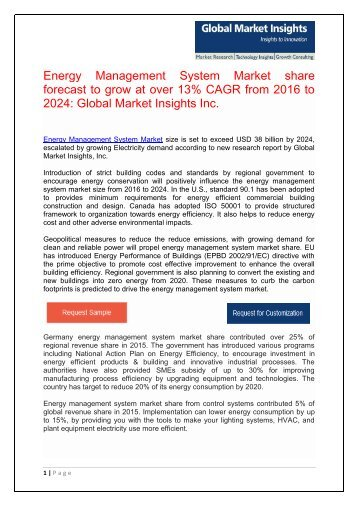 Global EMS Market size to grow at over 13% CAGR from 2016 to 2024
