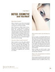 BOTOX® COSMETIC - Gateway Aesthetic Institute and Laser Center