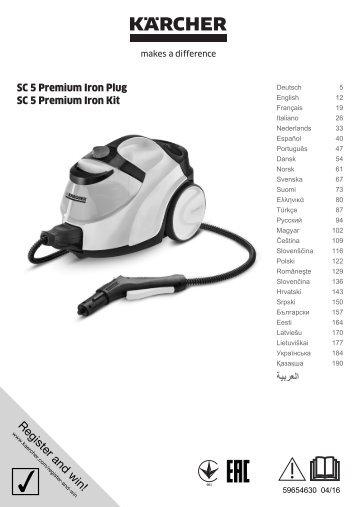Karcher SC 5 Premium + IronKit - manuals