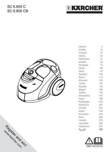 Karcher SC 6.800 C - manuals