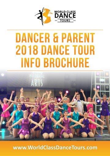 DANCER & PARENT 2018 INFO BROCHURE 10-2-17