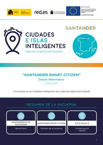 """SANTANDER SMART CITIZEN"""