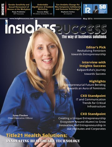 Insights Success 50 Most Empowering Women in Business May2016