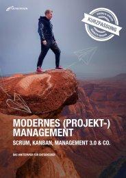 Modernes Projektmanagement mit Scrum, Kanban, Management 3.0 & Co.