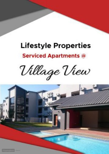 Serviced apartment booklet