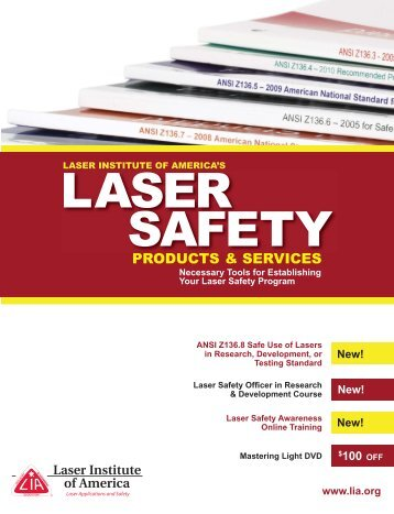 New! - Board of Laser Safety