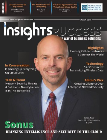 Insights Success 20 Most Valuable Enterprise Networking Companies