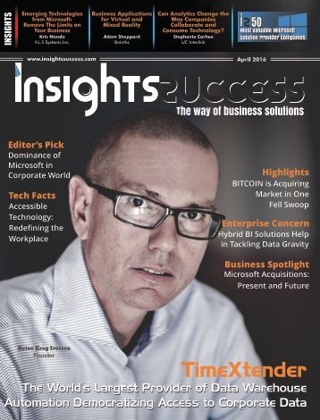 Insights Success 50 Most Valuable Microsoft Solution Provider Companies April2016