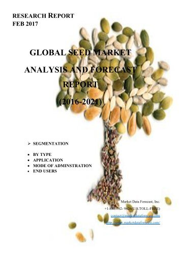 Seed Market - Growth, Trends and Forecasts (2016 - 2021)