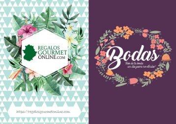 Catálogo 2017 regalos y detalles bodas con precio